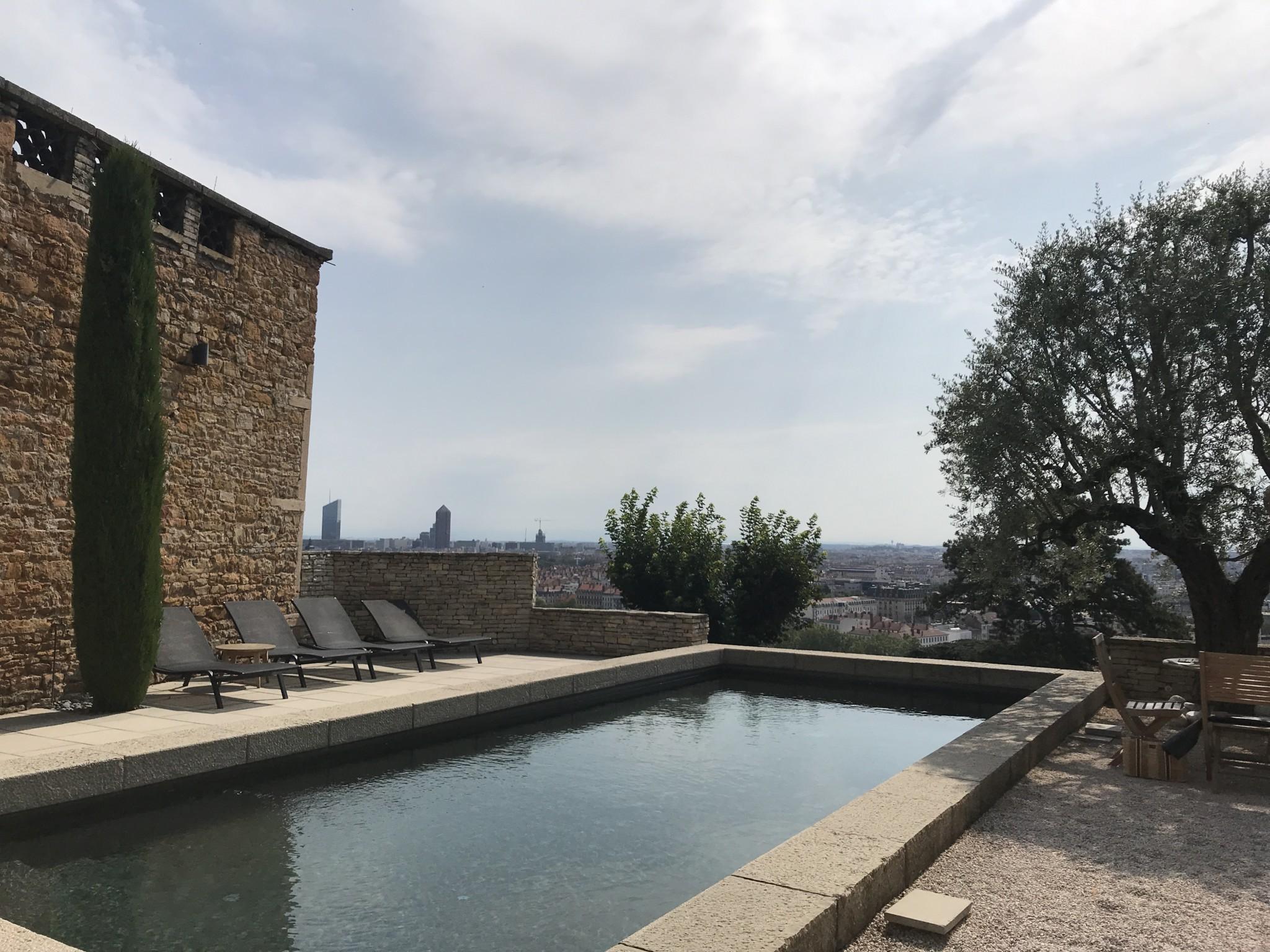 piscine Fontanières journée travail