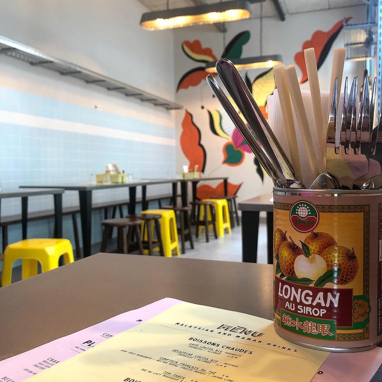 un été au restaurant Boleh lah