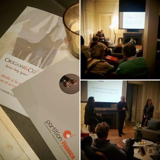 conférence Origami&Co à MAPIÈCE