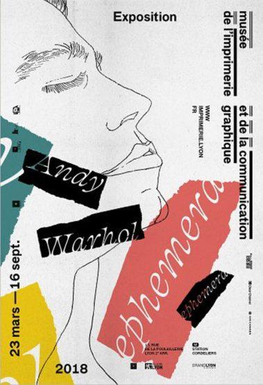 exposition Ephemera Andy Warhol