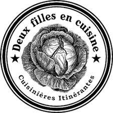 Logo Deux Filles en Cuisine